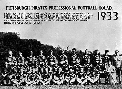 Resultado de imagen de pittsburgh pirates football 1933