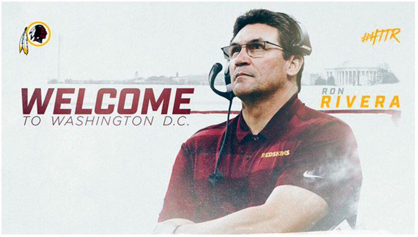 NFL: Ron Rivera es el nuevo head coach de los Redskins de ...