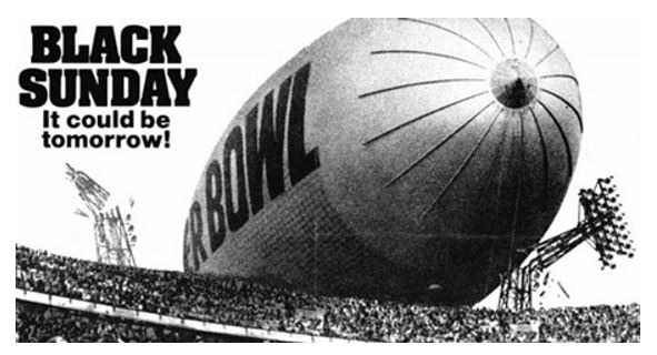 Hollywood Theatre - Black Sunday (with Super Bowl Snack Potluck!)