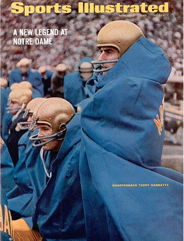 Notre Dame Qb Terry Hanratty... Sports Illustrated Cover by Sports ...