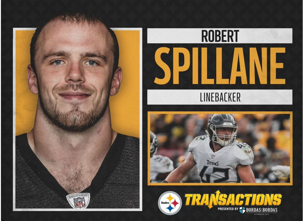 """Pittsburgh Steelers on Twitter: """"We have signed LB Robert Spillane and RB  Malik Williams.… """""""