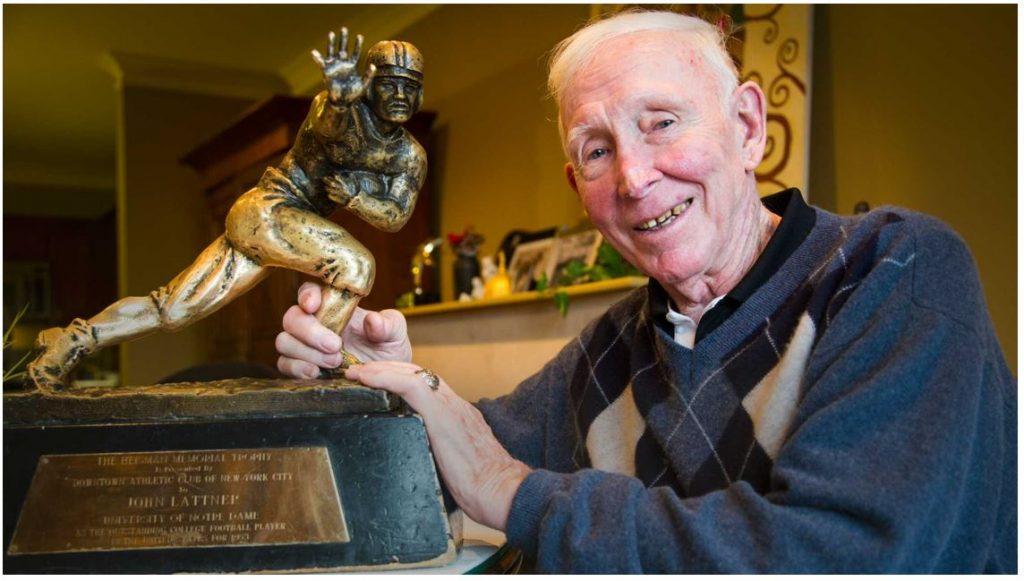 Remembering Johnny Lattner - Notre Dame Club of Chicago
