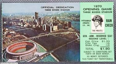 gatheringleavesgenealogyscrapbks | Three rivers stadium, Pittsburgh, Three  rivers