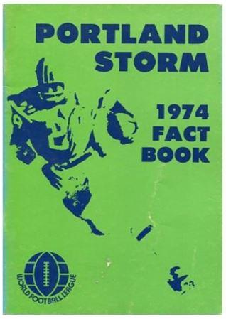 Portland Storm World Football League
