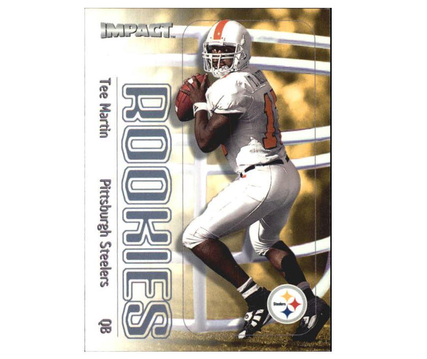 Tee Martin 2000 Fleer Impact Rookie #149 Football Card – DJS Pokemon Cards